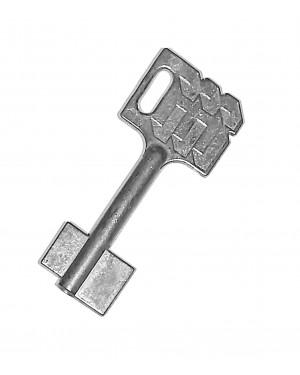 Kaba Mauer Doppelbart Schlüssel 65 mm, 6,0 mm, 3,5 mm
