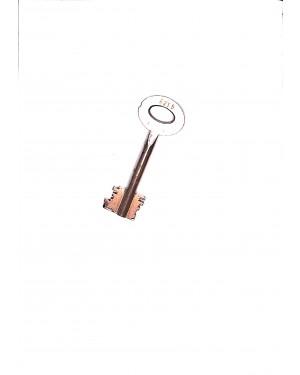 Tresorschlüssel für Stahlschrank nach VDMA Einheitsblatt 24992