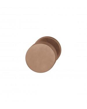 FSB Türknopf für einseitige Verschraubung Bronze poliert gewachst (0 23 0829 00005 7305)