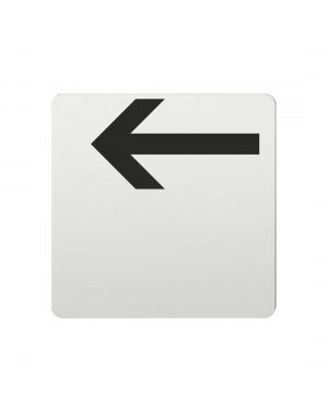 FSB Hinweiszeichen Pfeil nach links Lasergraviert Aluminium naturfarbig (0 36 4059 00003 0105)