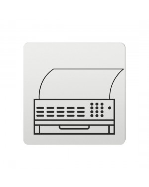 FSB Hinweiszeichen Telefax Lasergraviert Aluminium naturfarbig (0 36 4059 00201 0105)