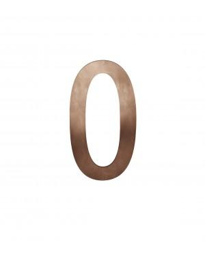 FSB Hausnummer Ziffer 0 Bronze (0 38 4005 00000 7615)