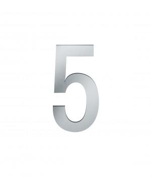 FSB Hausnummer Ziffer 5 Edelstahl (0 38 4005 00005 6204)