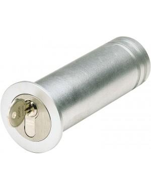 ASSA ABLOY Mini-Tresor Mit Kragen zur Abdeckung des Bohrlochs - mit Profil-Halbzylinder (9M40 45214)