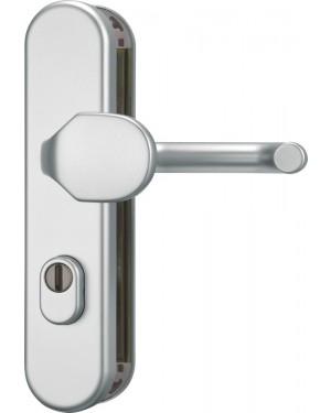 ABUS Türschutzbeschlag mit Zylinderschutz für Feuerschutztüren KLZS714 FS DIN 18273