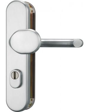 ABUS Türschutzbeschlag mit Zylinderschutz HLZS814 / KLZS714 Klasse ES1