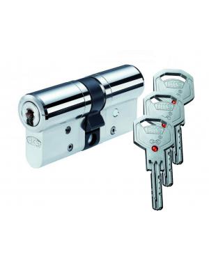 BKS Janus 4612 (45) Doppel- Schließzylinder in Chrom-Nickel-Stahl