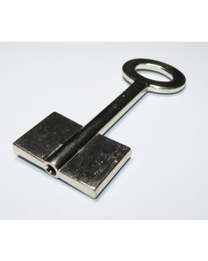Doppelbart-Schlüssel Messing 15C7W